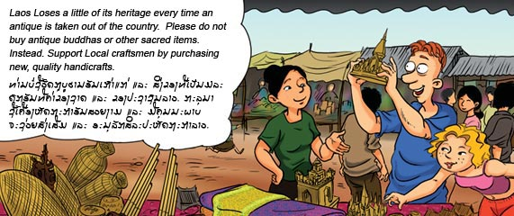 Rules to be observed in Luang Prabang, religious and