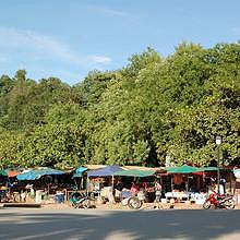 The Hmong Day Market in Luang Prabang
