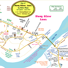 MAP : Nonh Khiaw centre-town