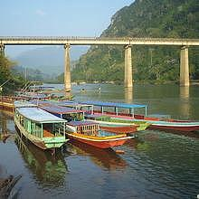 Nong Khiaw bridge