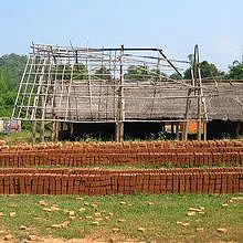 The brick factory in Ban Jan, Luang Prabang