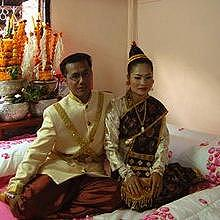 Marriage in Luang Prabang, the room for married