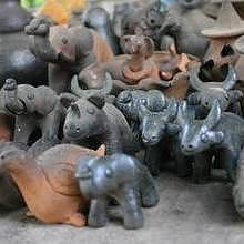 Pottery - Shaping little figures