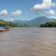 Cruise the Mekong by private boat, from Luang Prabang to Pakbeng