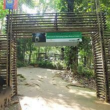 Rescue bears center in Kuang Si waterfalls