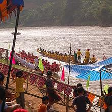 The last races of the year in Luang Prabang