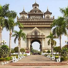 Patuxay, the Arc of Triumph of Vientiane