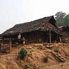 Typical Hmong House architecture