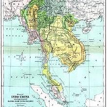 Laos during the second part of the XIX (1886)