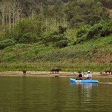 Kayaking the Mekong River