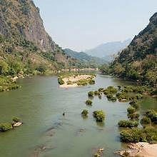 Nong Khiaw, view from the bridge