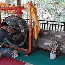 The 11 tons trunc & the gong