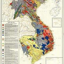 Laos : geologic map of indochina (1971)