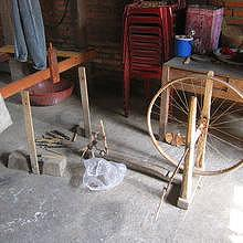 How to spin silk (traditional Lao way)
