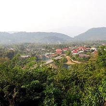 View of Luang Prabang from Vat Phon Phao