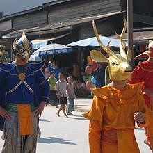Luang Prabang celebrates the World Heritage birthday (25/11/1995)
