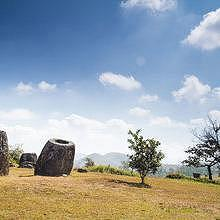 The Plain of jars during winter time