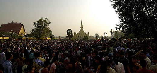 Festival of That Luang in Vientiane