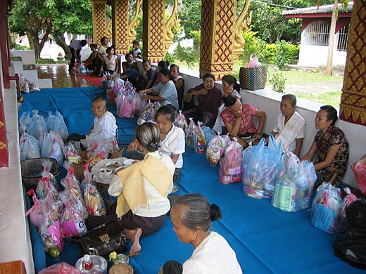 Boun Khao Salak or the celebration of the dead